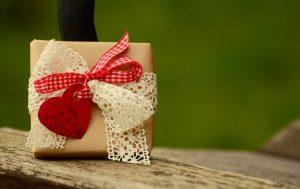 Imagem de uma caixa de presente
