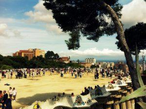 Os melhores parques infantis em Barcelona - Parc Güell
