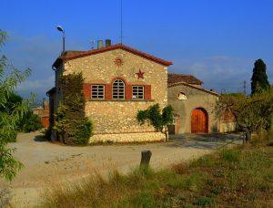 Casa no campo estilo 'masia'