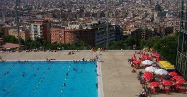 Piscinas urbanas de Barcelona (2)