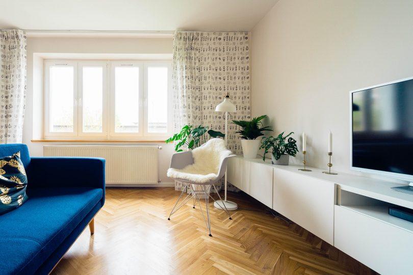 Sala de apartamento reformado