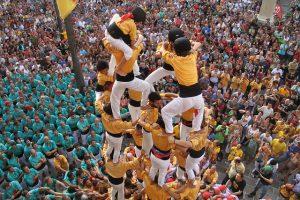 castellers - festival de Sants
