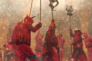 correfocs de diables - Festival de Sants