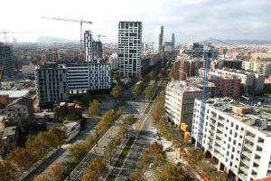 Avinguda Diagonal, em um dos melhores bairros da cidade de Barcelona