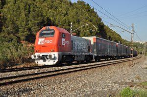 Trem dos Ferrocarrils da Generalitat de Catalunya