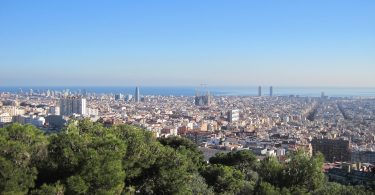 Visão panorâmica de Barcelona