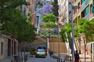 Imagem de escadas em Horta-Guinardó
