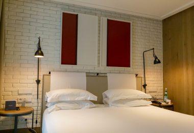 Imagem de quarto do The Corner Hotel, na Carrer de Mallorca, em l'Eixample