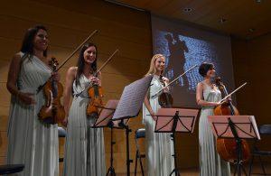 Imagem do Quarteto de Corda Valencia, de música clássica