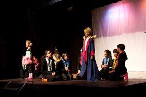 Imagem de apresentação teatral O Pequeno Príncipe