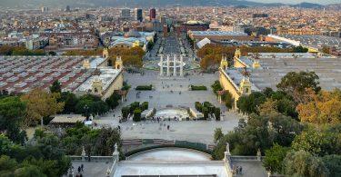 Imagem de Barcelona vista do alto