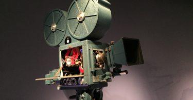 Imagem de câmera antiga de cinema