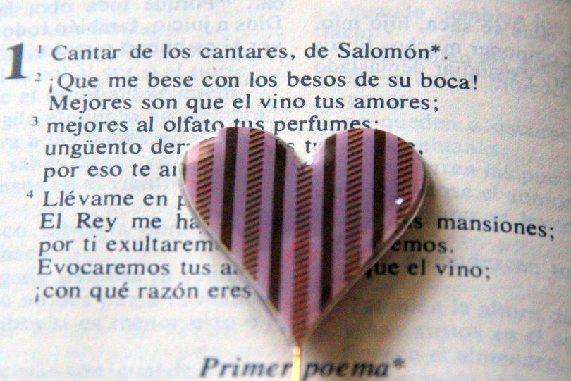 Imagem de um poema de amor