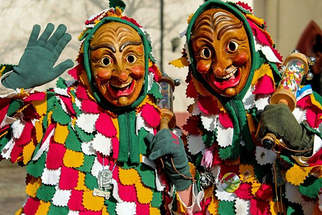 Foliões preparados para o Carnaval
