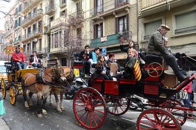 Sant Medir é uma das festas mais tradicionais de Barcelona