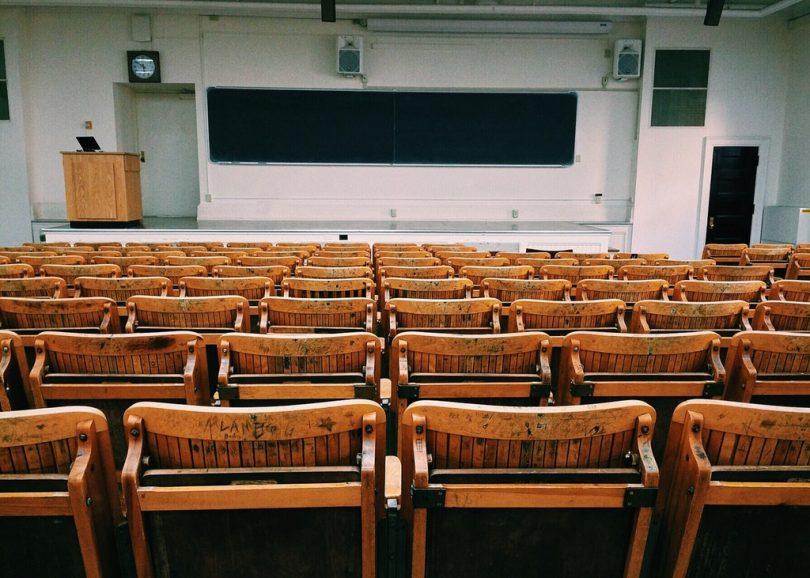 Sala de aula faculdade Barcelona